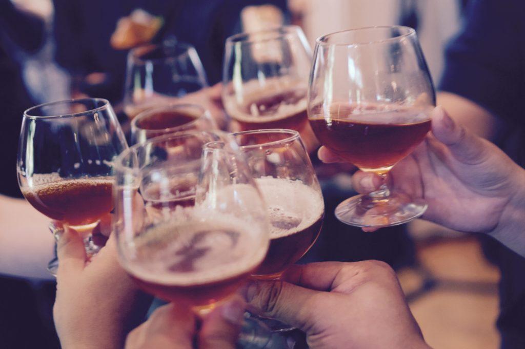 Da bere a una festa